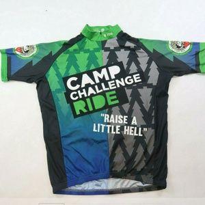 Vomax Cycling Club Jersey Shirt Short Sleeve Men's
